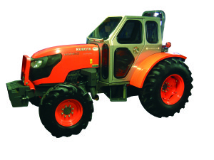 Introducing the All New Kubota Series M9960 Orchard Cab